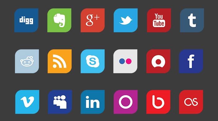 25 Awesome Social Media Icon Sets for 2019