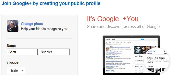 Join Google+