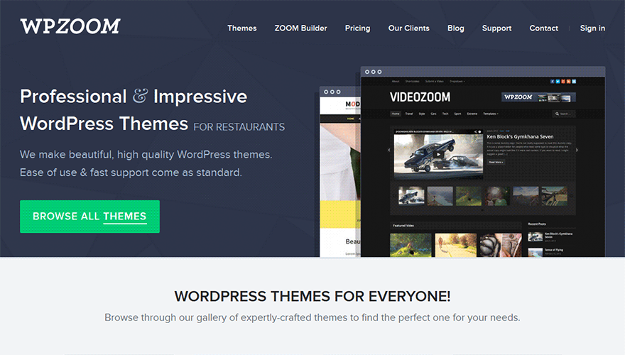 WPZoom - best place to buy WordPress Themes