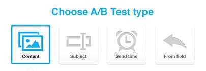 GetResponse Split Testing