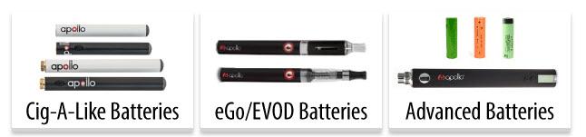 Apollo Battery Options