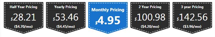 Interserver Pricing
