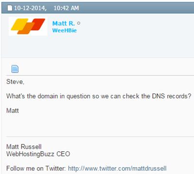 WebHostingBuzz Forums