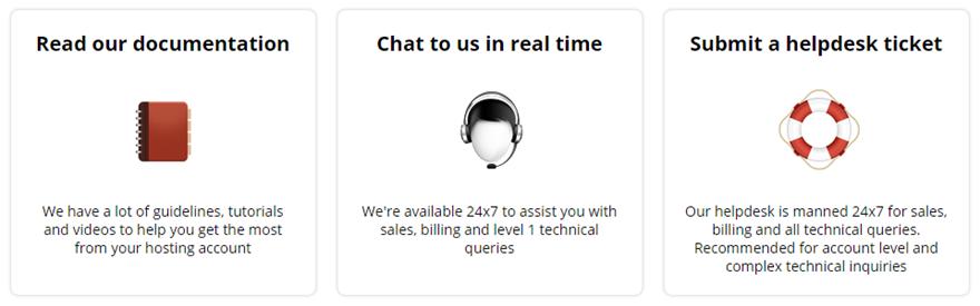 WebHostingBuzz Customer Support