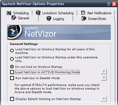 NetVizor Security Features