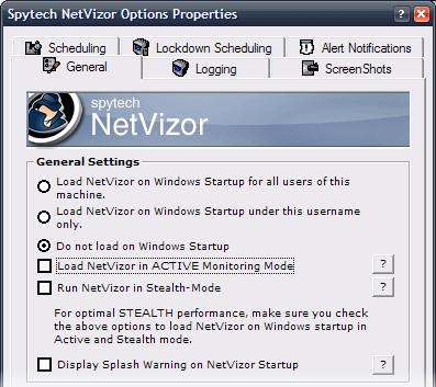 NetVizor Security Features