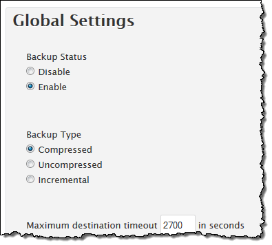 WHM Backup Solution