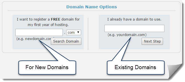Web Hosting Hub Register Domain